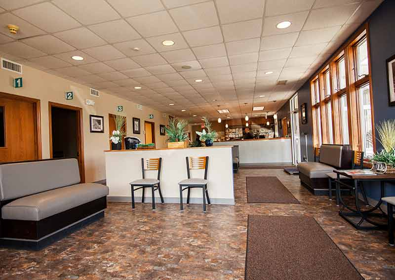 Bradford Hills Veterinary Hospital Lobby